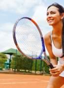Играем в теннис с пользой для здоровья