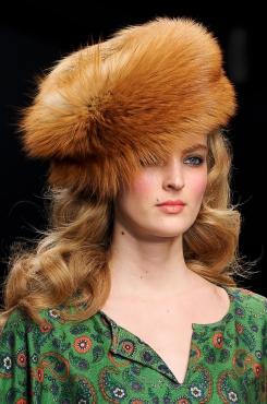 меховая шляпа 2012-2013