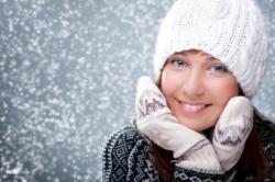 Красивая кожа зимой