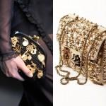 Блестящие женские сумки, мода весна-лето 2013