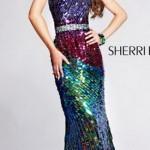 яркое длинное выпускное платье 2013