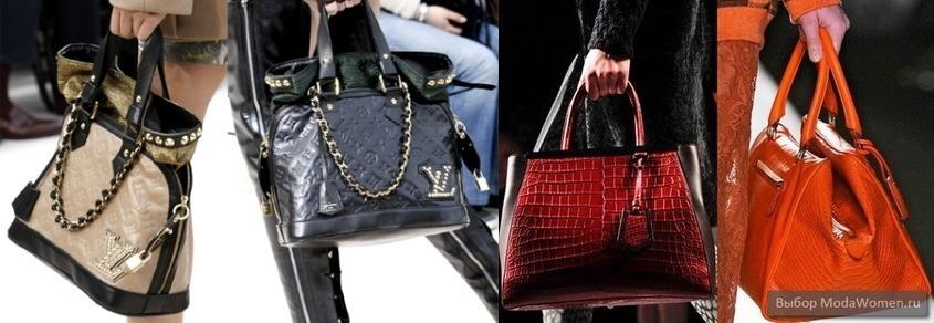 Модные женские сумки из кожи весна