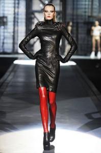кожаное платье 2013 фото