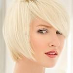 стрижка боб белые волосы