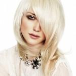 модная прическа на длинные волосы 2013 ассиметрическая стрижка