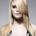 ассиметрическая стрижка для длинных волос 2013