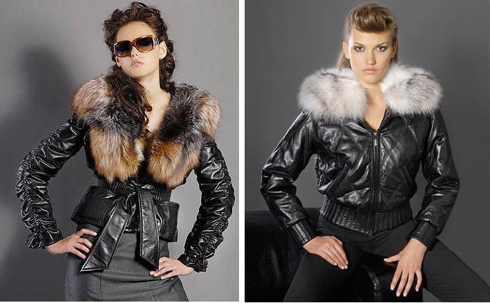 модная женская кожаная куртка 2013 весна-лето