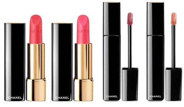 карандаш для губ и помада - весенняя коллекция макияжа Шанель 2013