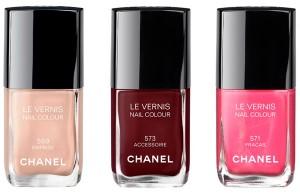 лак для ногтей - весенняя коллекция макияжа Шанель 2013