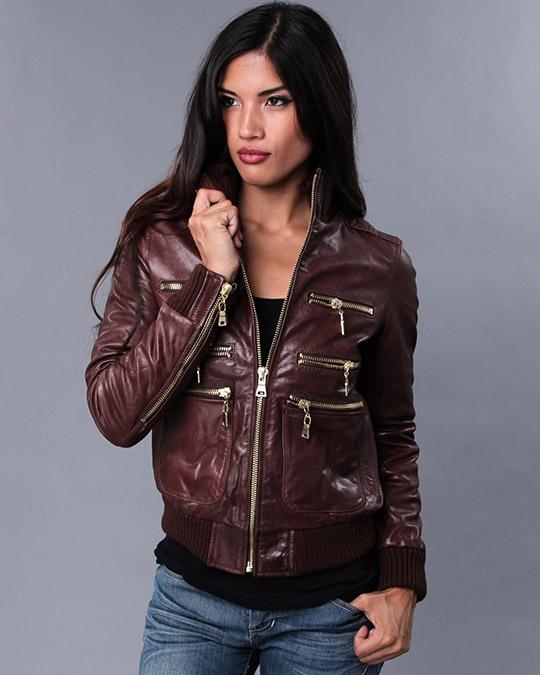 модные женские кожаные куртки 2013 весна-лето