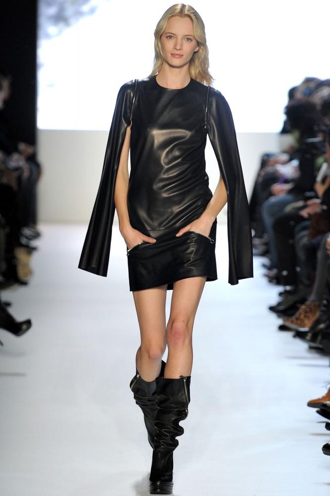 кожаные платья 2013 фото