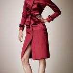 модные пальто красного цвета 2013 года