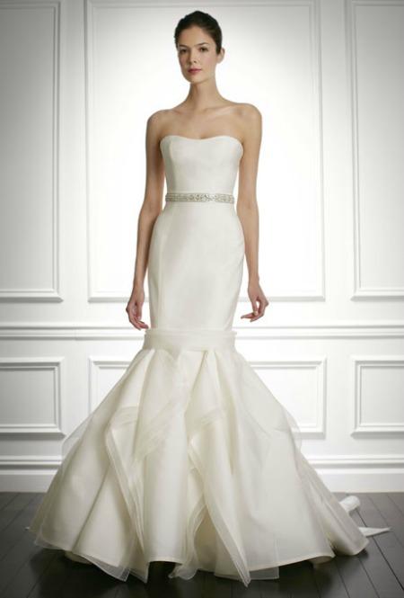 Модное свадебное платье 2013 Carolina Herrera