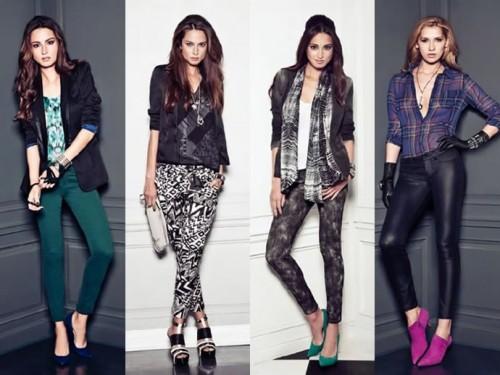 трендовые женские джинсы в зауженном стиле 2013