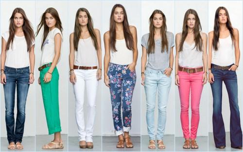 светлые женские джинсы 2013