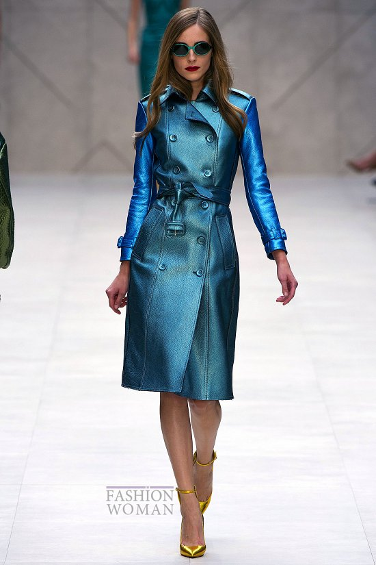пальто 2013 синего цвета фото