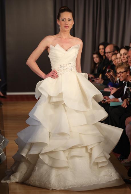 модное свадебное платье 2013 ines di santo