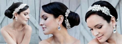 свадебные аксессуары 2013 - диадема фото
