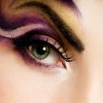Как выбрать фиолетовые тени
