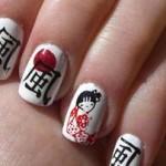Маникюр в японском стиле
