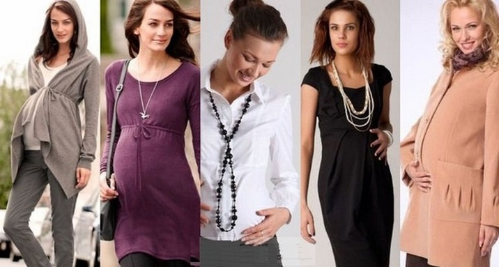 Ещё варианты одежды для беременных мода 2015