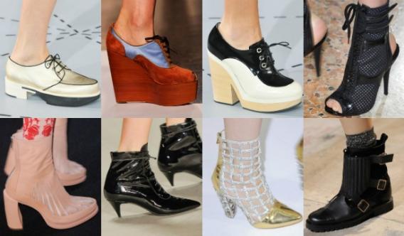 женская модная обувь весна 2016