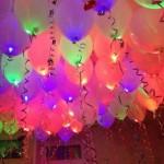 светящиеся шарики на праздник