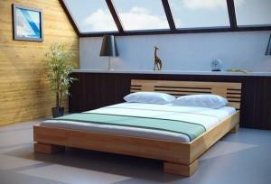 купить деревянную кровать для спальни