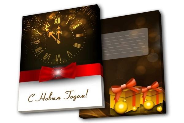 шоколадный набор на Новый год