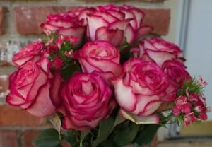 Huge bouquet of beautiful flowers