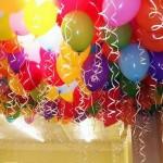 Гелевые шарики украшение праздника