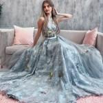 Вечернее платье оригинальное и женственное